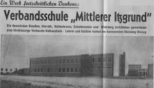 Zeitungsartikel von 1966