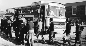 Der zweite Schulbus