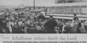 Erster eigener Schulbus