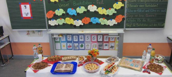 Unsere 1. Klasse feierte am 13.07.2016 ein Buchstabenfest